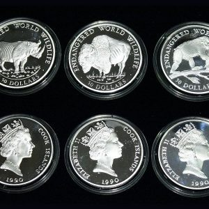 Endangered Wildlife – Set of 3 Silver Coins #002