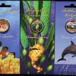 The Royal Australian Mint Ocean Series Set of 6 Coins Lot 6 Münzen 1 Dollar