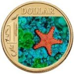 Biscuit Star Fish One Dollar The Royal Australian Mint Ocean Series