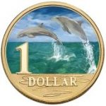 Bottlenose Dolphin One Dollar The Royal Australian Mint Ocean Series
