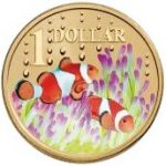 Clown Fish One Dollar The Royal Australian Mint Ocean Series