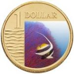 Longfin Bannerfish One Dollar The Royal Australian Mint Ocean Series