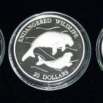 Endangered Wildlife Set of 3 Coins #001