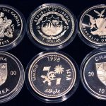 Set of 6 Color Coins Marine Life Protection - Lot von 6 Farbmünzen, Gambia, Liberia, Namibia, Ghana & Madives